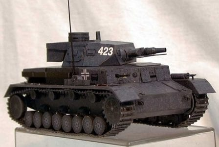 feature post image for Panzer IV Ausf KAMPFWAGEN D Tank