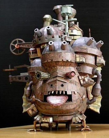 Howl Moving Castle Papercraft