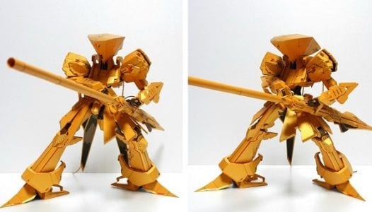 Knight of Gold Action Figure Papercraft