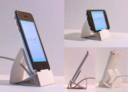 Iphone Dock and Stand Papercraft