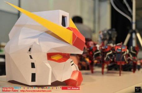 Gundam Helm Papercraft