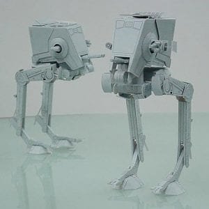 Star Wars All Terrain Scout Transport (AT-ST) Papercraft