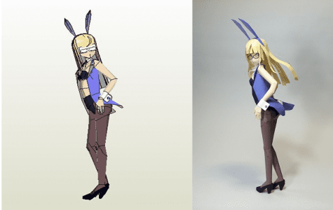 Strike Witches Perrine H. Clostermann Papercraft
