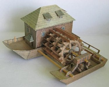 Watermill Paper Craft