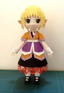 Mizuhashi Parsee Touhou Project Paper craft