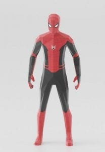 Spiderman Far From Home Paper craft
