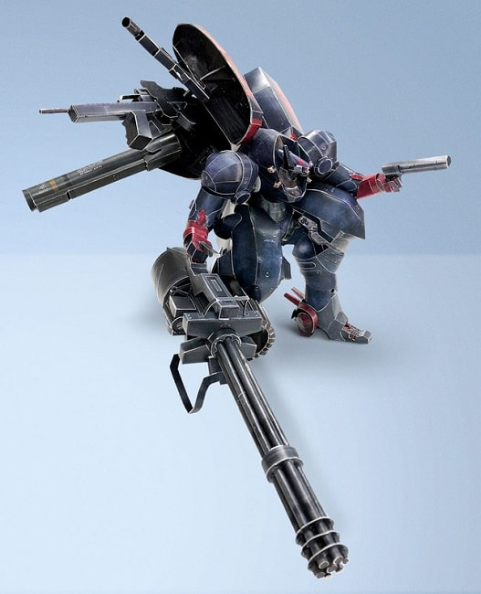 Metal Wolf Chaos Game Paper craft