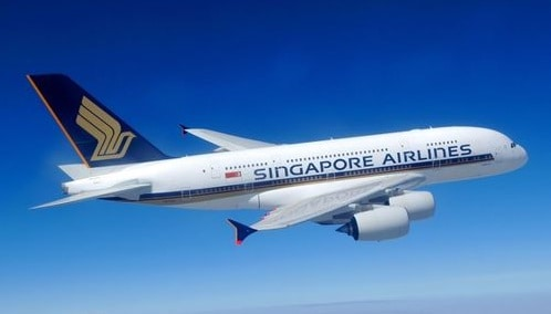 Singapore Airlines Airbus A380-800 Paper craft