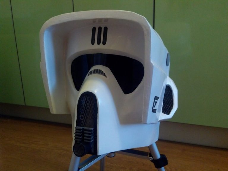 Star Wars Imperial Scout Helm Paper craft