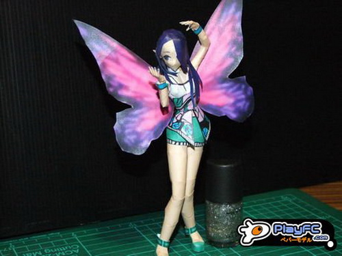 Nathaly Fairy Paper craft