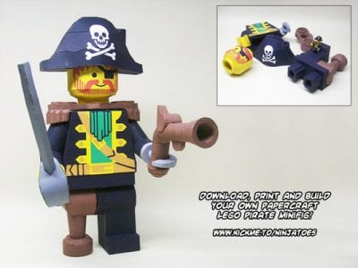 Lego Characters Papercraft